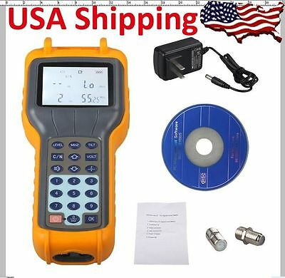 Ship From US RY S110 CATV Cable Digital Signal Level Meter DB Tester Brand New