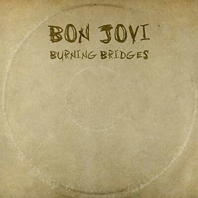 Bon Jovi - Burning Bridges - Bon Jovi CD 4KVG The Cheap Fast Free Post The Cheap