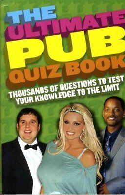 Ultimate Pub Quiz, No author Paperback Book The Cheap Fast Free Post