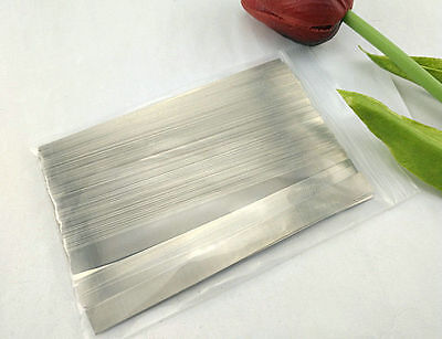 10pcs 8*100*0.15mm Pure 99.96% Low Resistance Nickel Metal Strap Sheet Batter