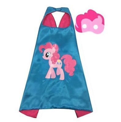 Kids Play  Pony Control Cloak Face Mask Super Hero Cape And Mask Clothing