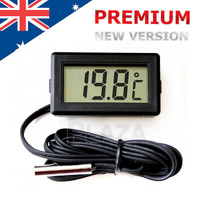 LCD Digital Temperature Thermometer for Fridge Freezer Aquarium FISH TANK Meter