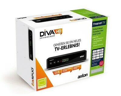 Aston DIVA HD T2 freenet TV DVB-T2 ZAPPER H.265 HEVC