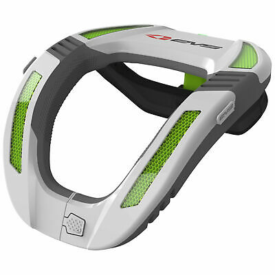EVS Kart / Go Karting / Racing R4 Neck Collar / Safety Device - White Adult Size