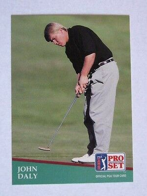Pro Set 1991 Pga Tour Golf Card # 93. John Daly
