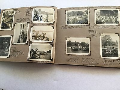 Antique Vintage Photo Album Old Photos SMS Sydney Musical Society Social 1940s