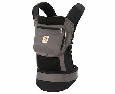 Genuine Ergobaby Performance Baby Carrier - Charcoal/Black EUC
