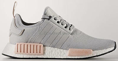ADIDAS NMD R1 W ONIX GREY VAPOUR PINK 5.5 8 BY3058 OFFSPRING ultra boost salmon
