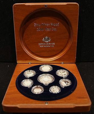 2006 Royal Australian Mint Eight Coin Silver Year Set