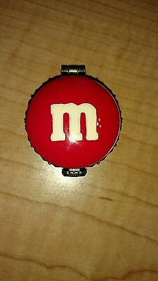 M&M's Candy Collectible Boyds Bears Red Charm Box