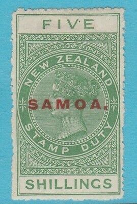 Samoa 123  Mint Hinged Og No Faults Extra Fine !
