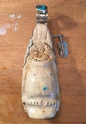 Antique BILLIKEN Handmade Native American Art Navajo Pacific Northwest Vintage