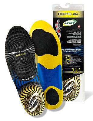 Universal Insoles Arch Support Antishock Solette Sportive Noene Ergopro Ac+