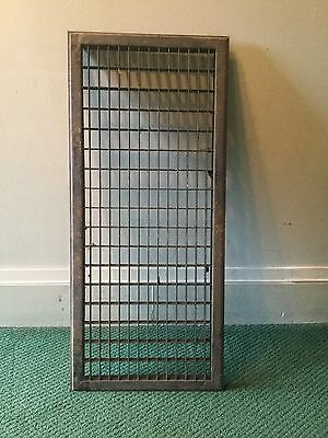 Vintage Large Metal Floor Wall Grate Heat Register Could Be A Pots And Pan Rack