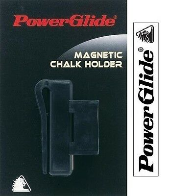 Powerglide Snooker & Pool Accessories Magnetic Chalk Holder
