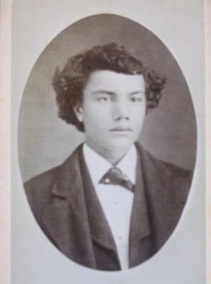 Antique CDV Photo Young African American Boy Biracial Well Dressed Cambridge Ill