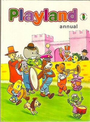 PLAYLAND ANNUAL 1972 TV Clangers Sooty Hector Parsley Camberwick Mr Benn Babar