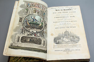 Antique Book - Life in London - The Day and Night Scenes of Jerry Hawthorn Esq.