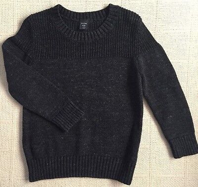Baby Gap Boy Toddler Navy Blue Knitted Sweater Size 3 3t
