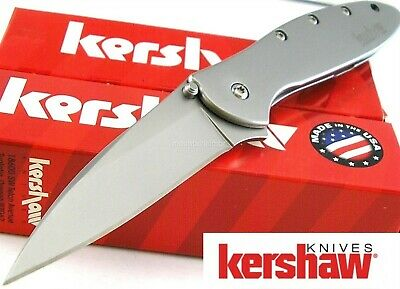 Kershaw USA Leek SpeedSafe Assisted Opening Sandvik Blade Pocket Knife 1660
