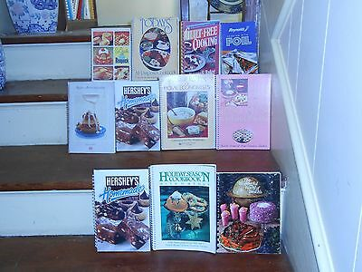 *lot Of 40 Vintage Spiral Bound & Soft Cover Cook Books Clubs Churches & More