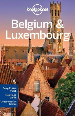 NEW Belgium & Luxembourg By Lonely Planet Paperback Free Shipping