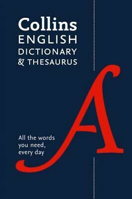 NEW Collins English Dictionary and Thesaurus [5th Edition] By Collins Dictionari