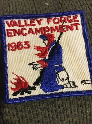 1963 Valley Forge Encampment Patch