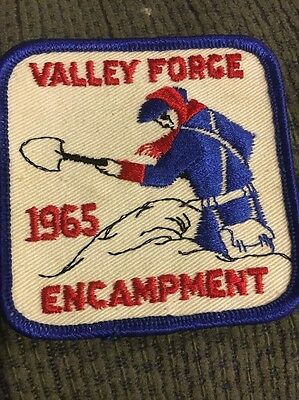 1965 Valley Forge Encampment Patch