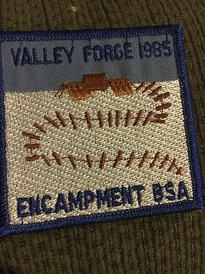 1985 Valley Forge Encampment Patch