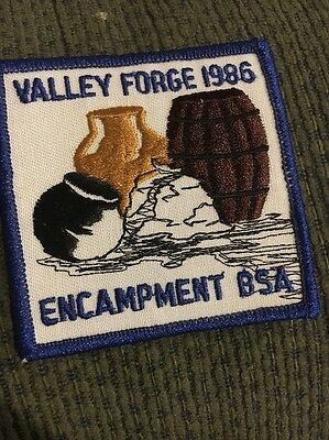 1986 Valley Forge Encampment Patch
