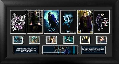 BATMAN The DARK KNIGHT DC Comics Framed MOVIE FILM CELL and PHOTO MONTAGE New