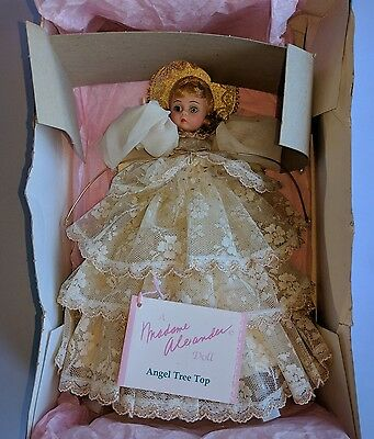 Madame Alexander Angel Tree Topper - 1992