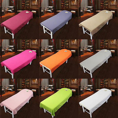 Beauty Massage Towelling Bed Table Cover Salon Spa Couches Sheets Different size