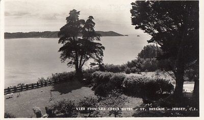 JERSEY ( Channel Islands) : View from Les Creux Hotel-St.Brelade RP