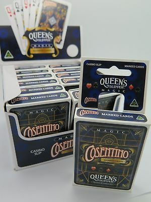 1 x Queens Slipper Cosentino Magic Marked Playing Cards Secretly Coded 195332