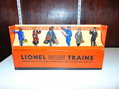 Excellent Lionel Original Prewar #550 Figure Set in the Box