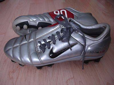 Nike Air Zoom Total 90 Iii Fg Silver/red Us5 Uk4.5 Eu37.5 Cm23.5