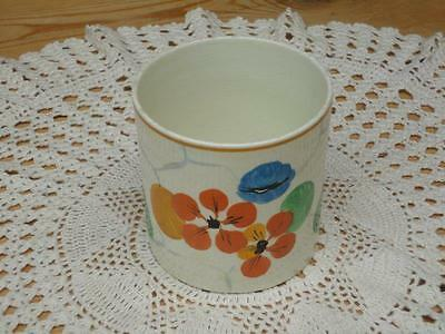 Vintage Ridgways Hand Painted Sugar Bowl Bedford Ware England Collectable A4