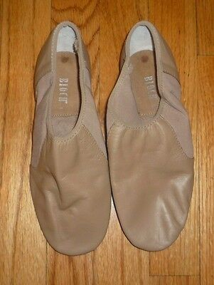 New Bloch Womens Leather Jazz Dance Shoes 6 Caramel Neo Flex