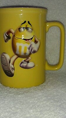 M&M's 2006 M&&M's World 3D Mug Perspective Yellow