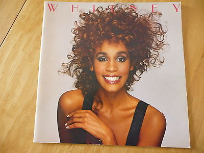 "Whitney Houston:«The Moment of Truth Tour 1987» Official Program Tour.12""x 12"""