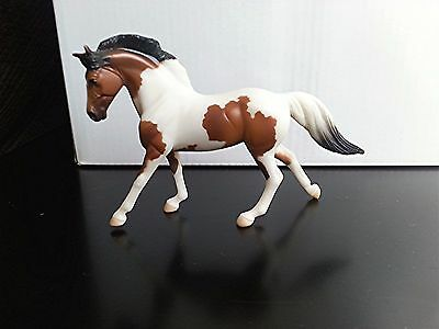 Breyer Stablemate Horse G3 Cantering Warmblood SR JCP POB Bay Pinto