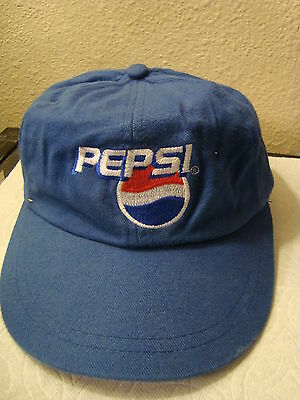 Vintage Collectible Pepsi Baseball Hat  New Age Inc RN 94493