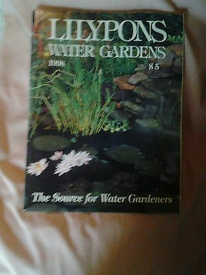 Lilypons Water Gardens Catalog 1998 - The Source for Water Gardeners