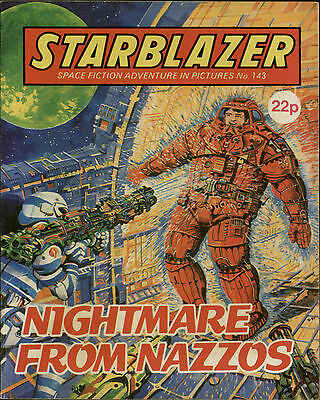 Nightmare From Nazzos,starblazer Space Fiction Adventure In Pictures,no.143