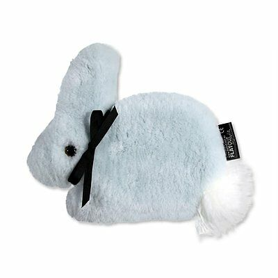 FLATOUT Bunny - Baby Blue - Bluey Flat Out- Aust. Sheepskin - Clearance Price!