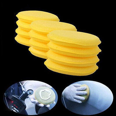 12Pcs/Set Car Polishing Waxing Sponge Wax Purifying Vehicle Foam Clean Pad Tool