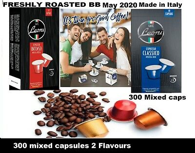 300 Nespresso Compatible Coffee Pods - 300 x MESETA CAPS total ITALIAN ROAST