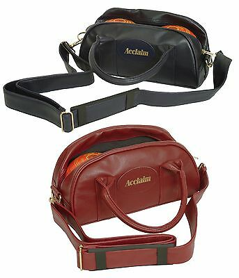 ACCLAIM Premium Cwmbran Traditional Two Bowl Bag Handles Zip Shoulder Strap